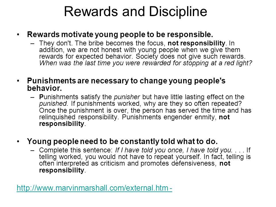 Rewards and Discipline
