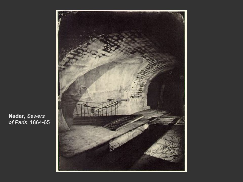 Nadar, Sewers of Paris, 1864-65