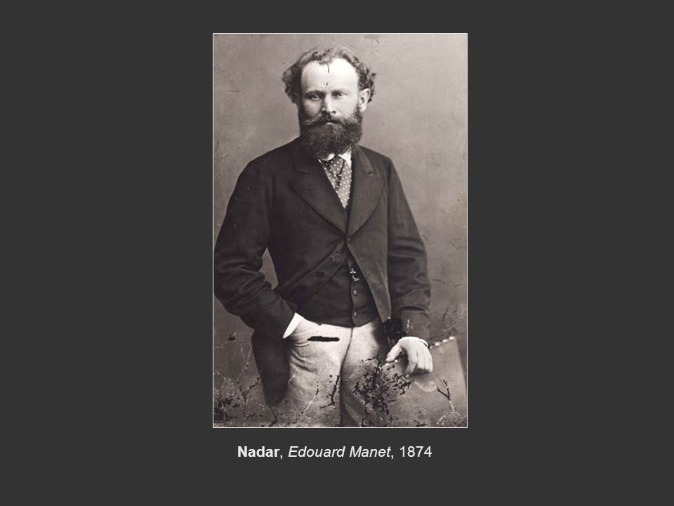 Nadar, Edouard Manet, 1874