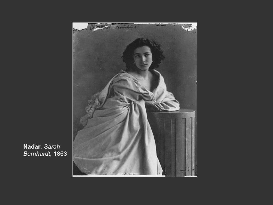 Nadar, Sarah Bernhardt, 1863