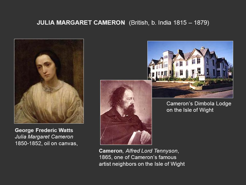 JULIA MARGARET CAMERON (British, b. India 1815 – 1879)