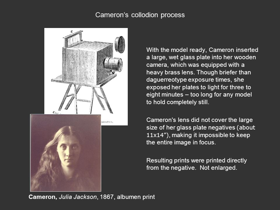 Cameron's collodion process