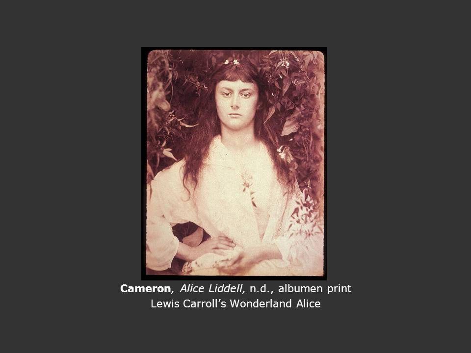 Cameron, Alice Liddell, n.d., albumen print