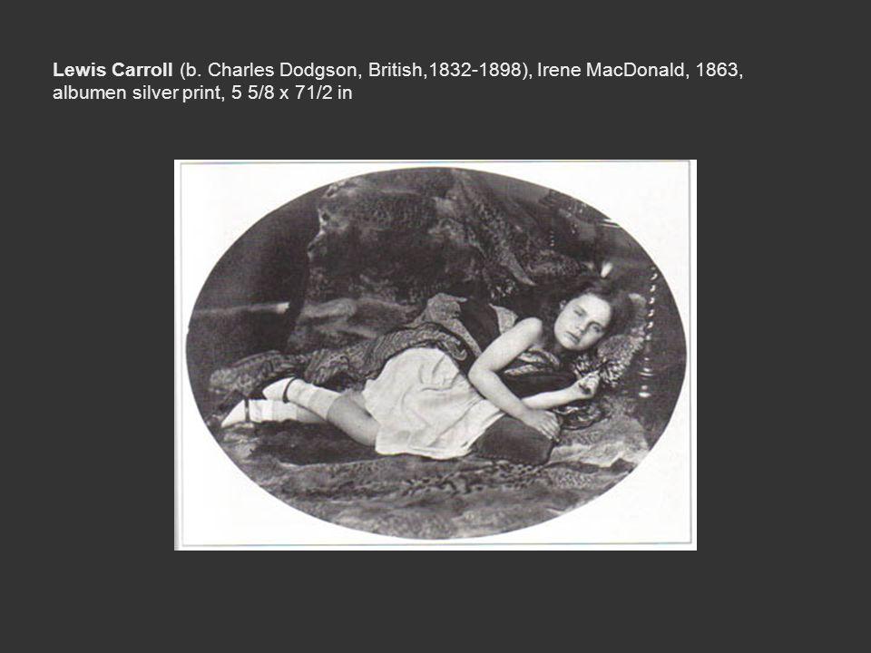 Lewis Carroll (b.