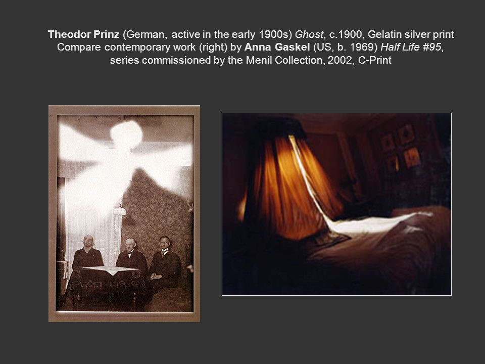 Theodor Prinz (German, active in the early 1900s) Ghost, c