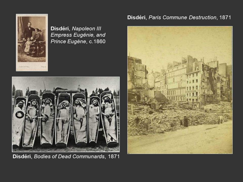 Disdéri, Paris Commune Destruction, 1871