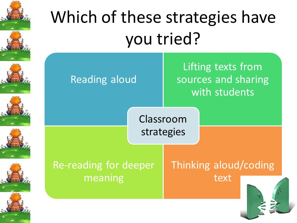 Which of these strategies have you tried