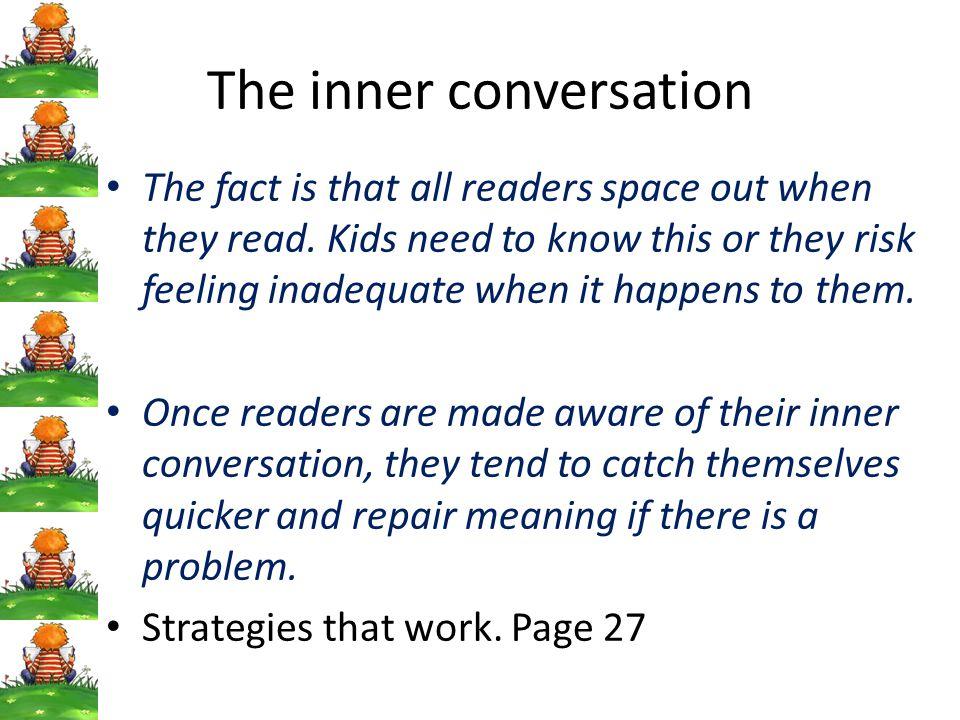 The inner conversation