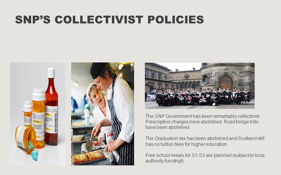 SNP's Collectivist policies