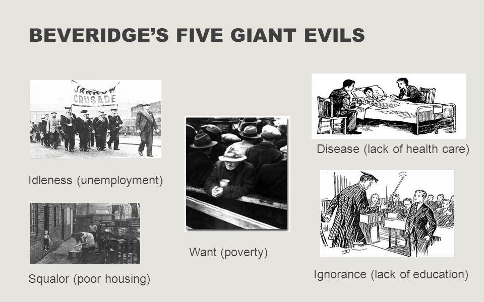 Beveridge's five giant evils