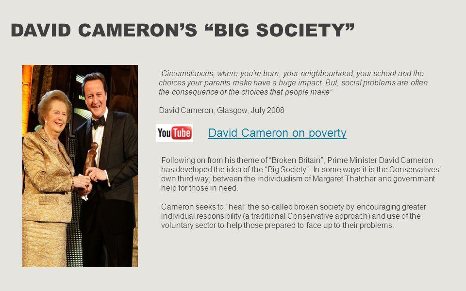 David Cameron's Big Society