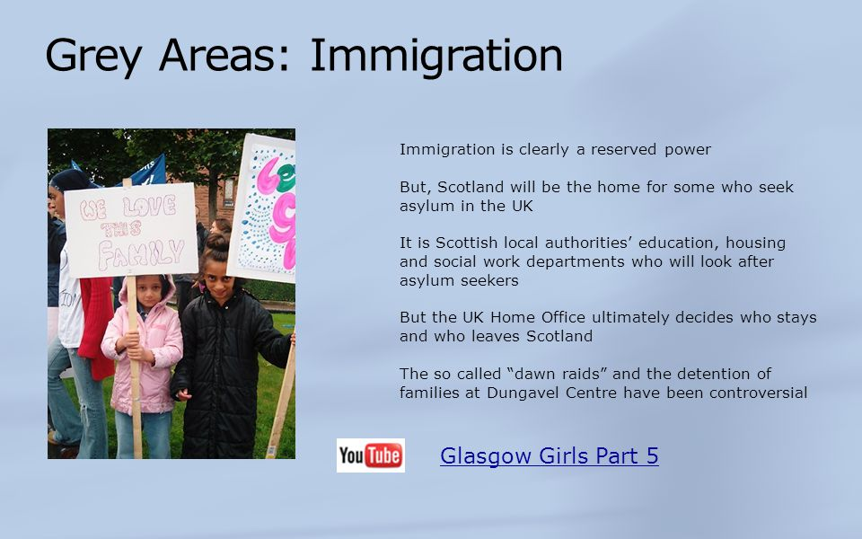 Grey Areas: Immigration