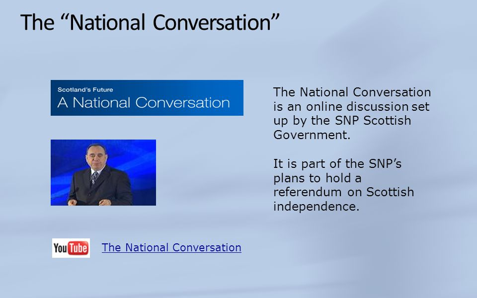 The National Conversation