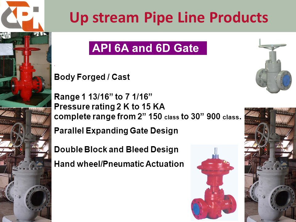 Down Stream Pipe Line Products