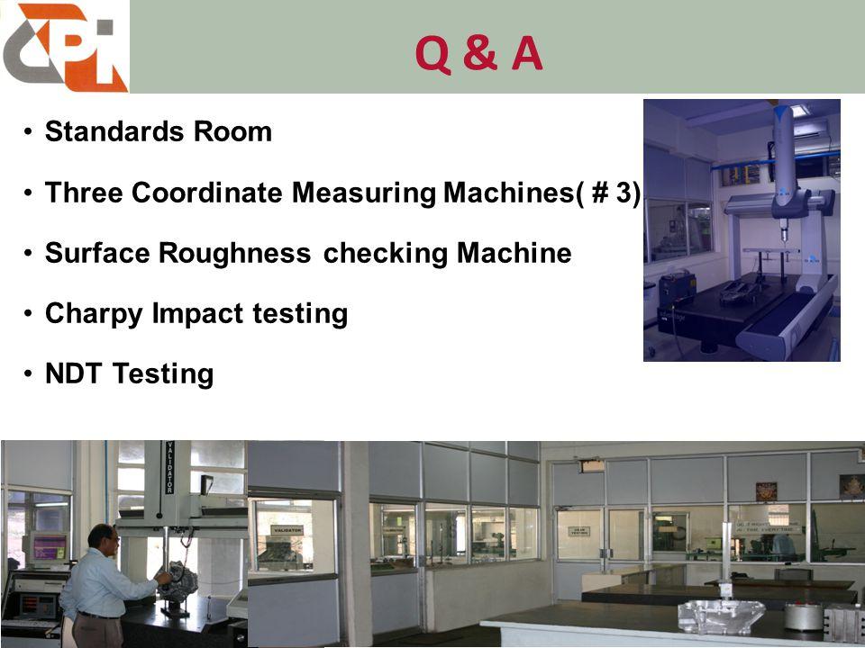 Q & A Tensile Testing Machine Profile Projector