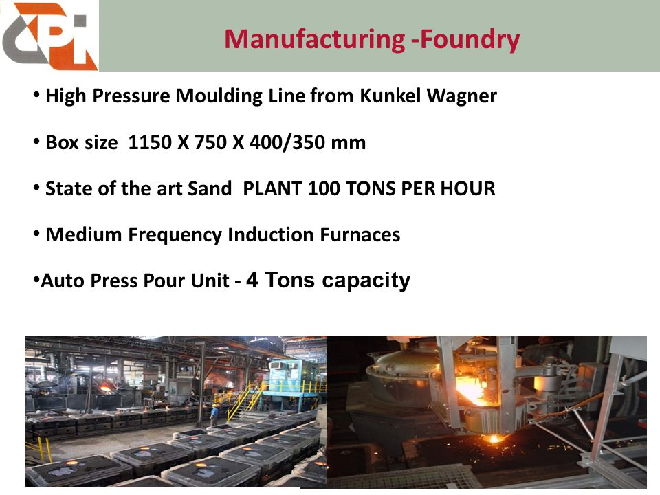 Manufacturing -Foundry