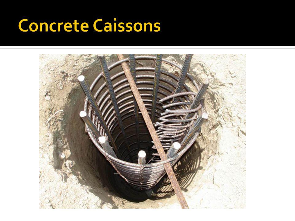 Concrete Caissons