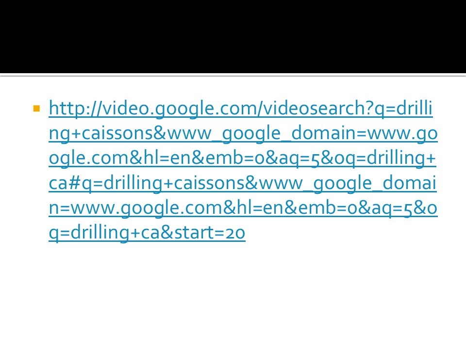 http://video. google. com/videosearch