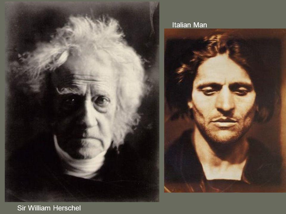 Italian Man Sir William Herschel