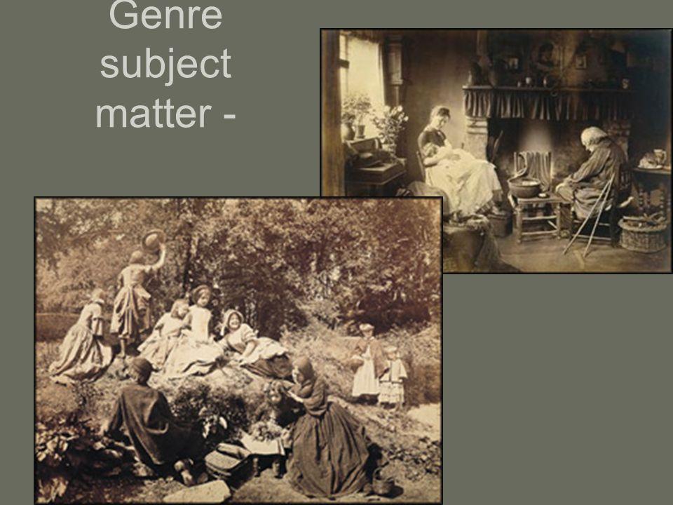 Genre subject matter -