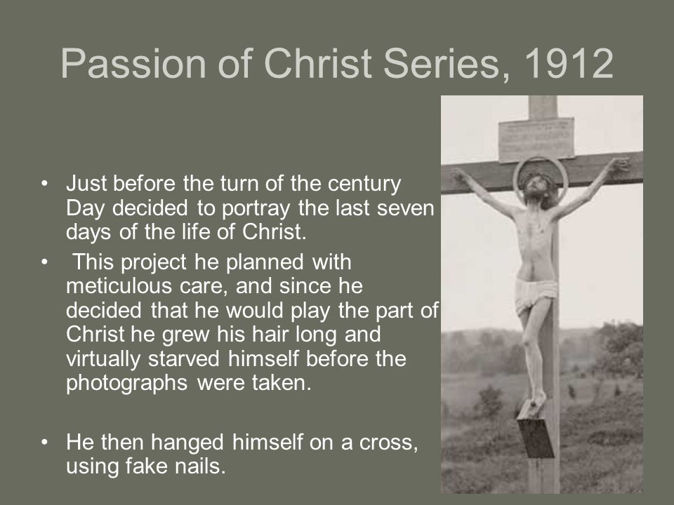 Passion of Christ Series, 1912