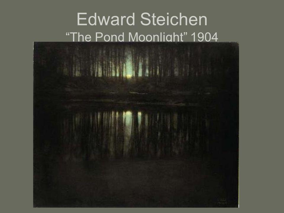 Edward Steichen The Pond Moonlight 1904