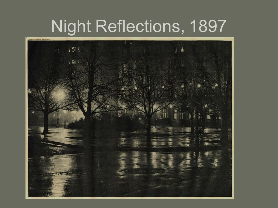 Night Reflections, 1897