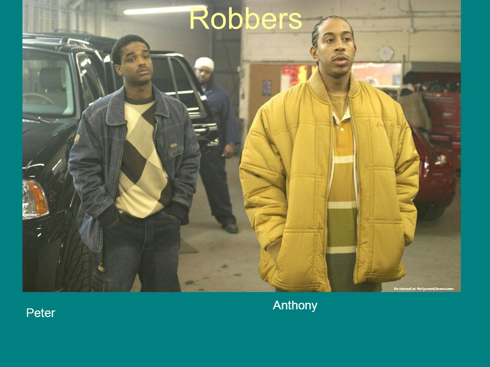 Robbers Anthony Peter