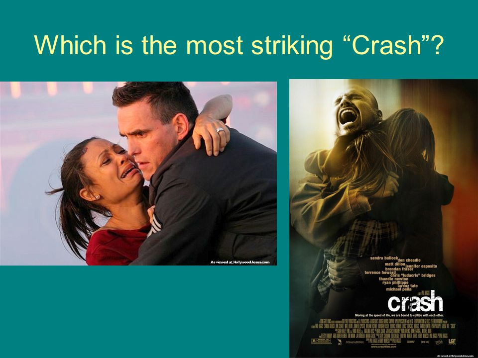 Which is the most striking Crash