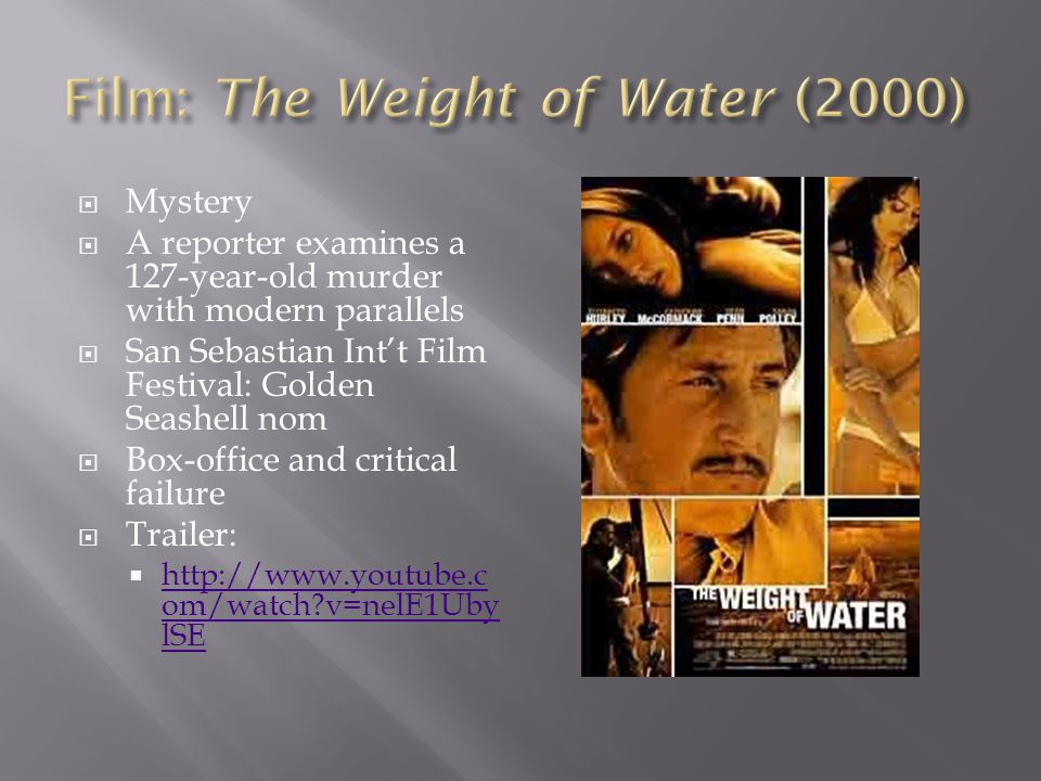 Film: The Weight of Water (2000)