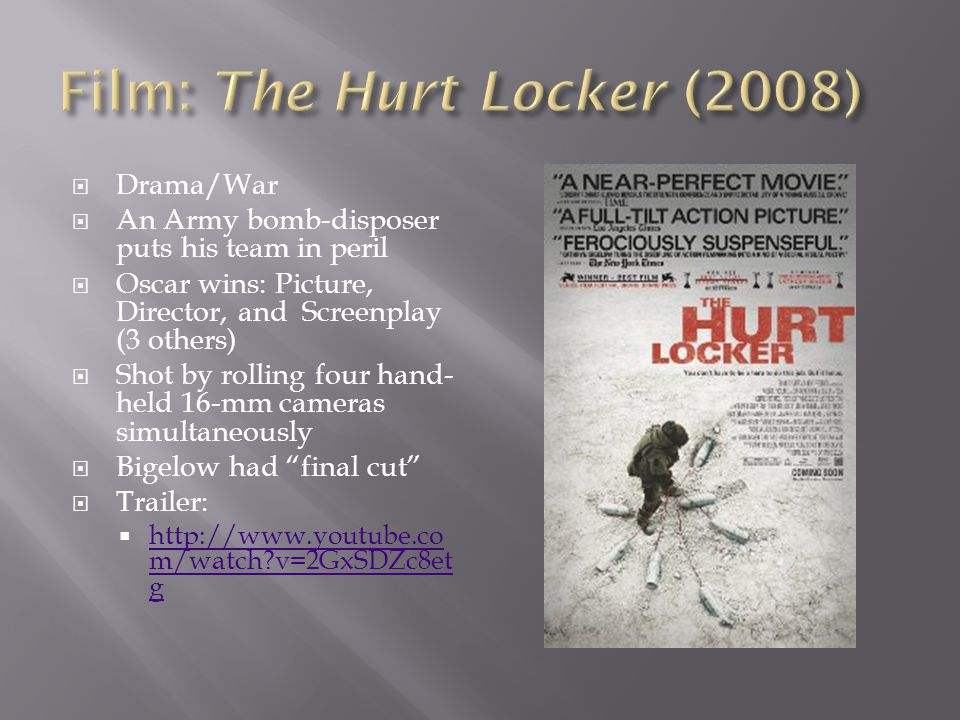 Film: The Hurt Locker (2008)