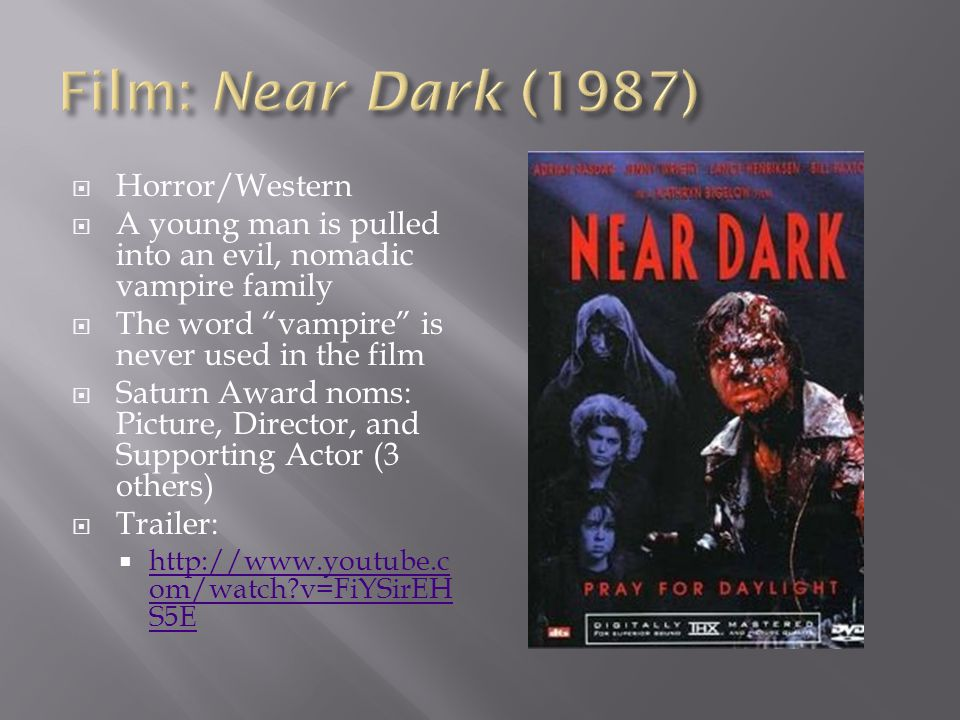 Film: Near Dark (1987) Horror/Western