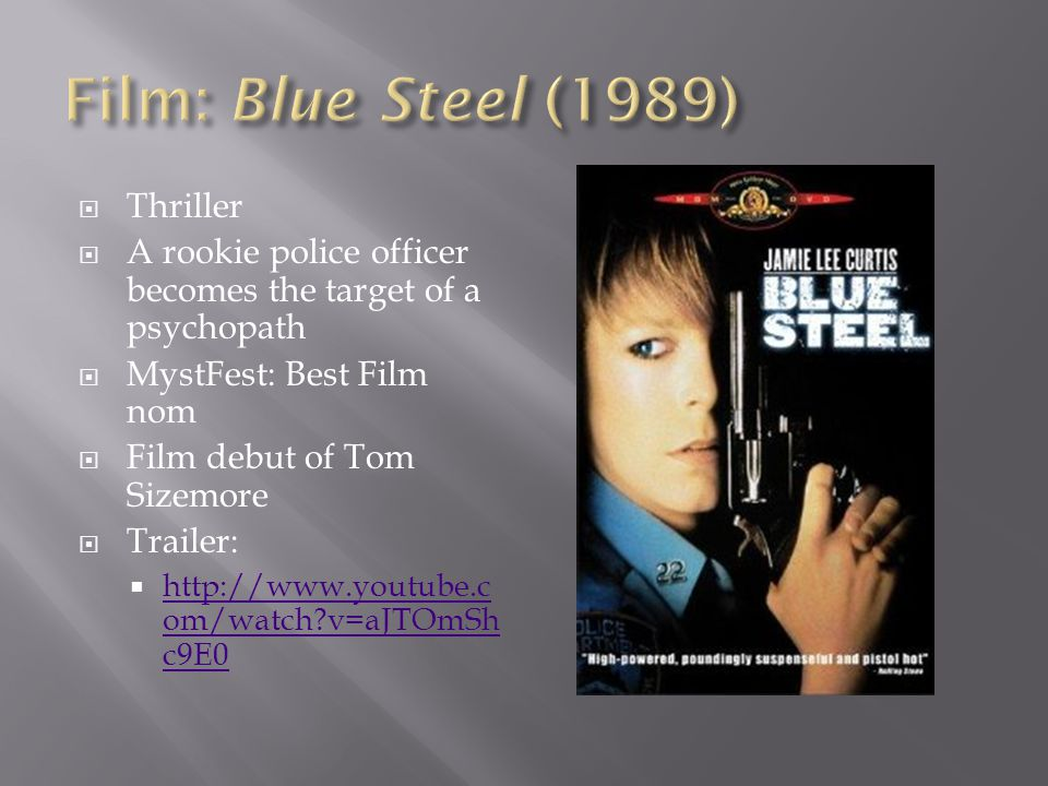 Film: Blue Steel (1989) Thriller