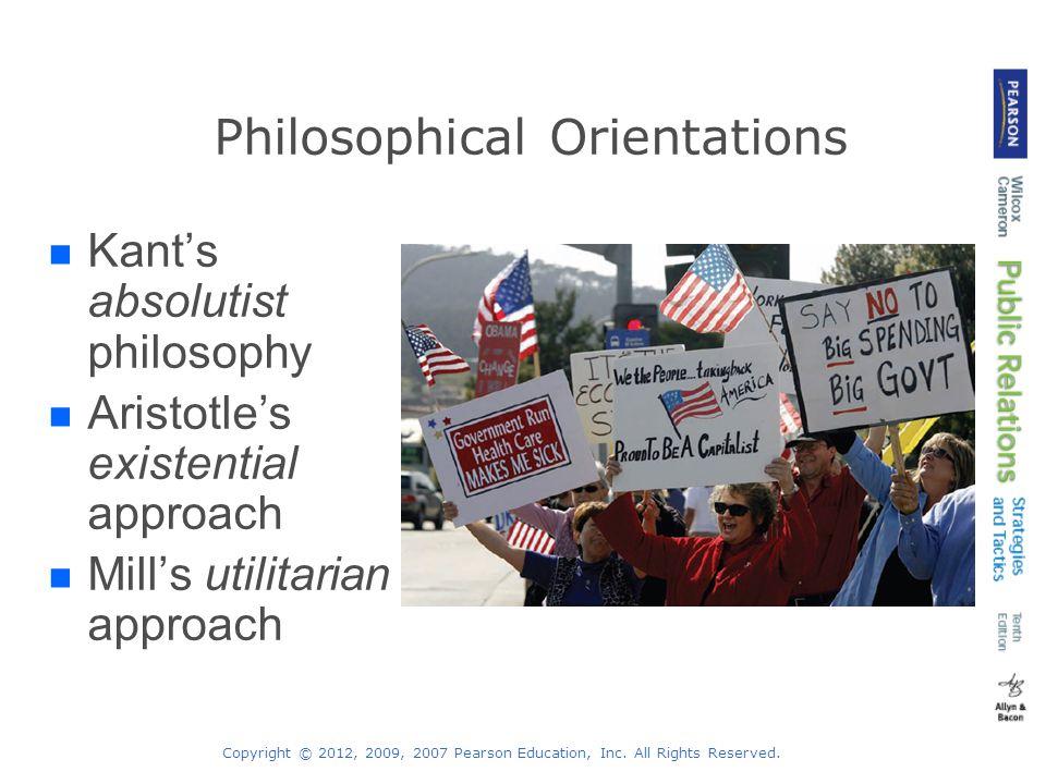 Philosophical Orientations