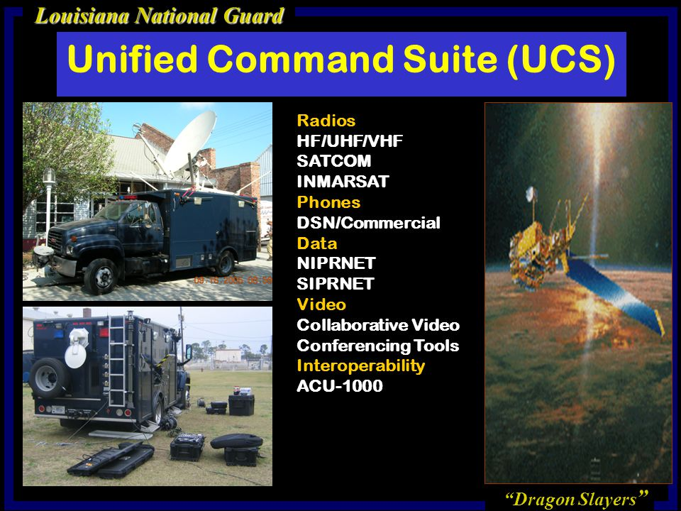 Unified Command Suite (UCS)