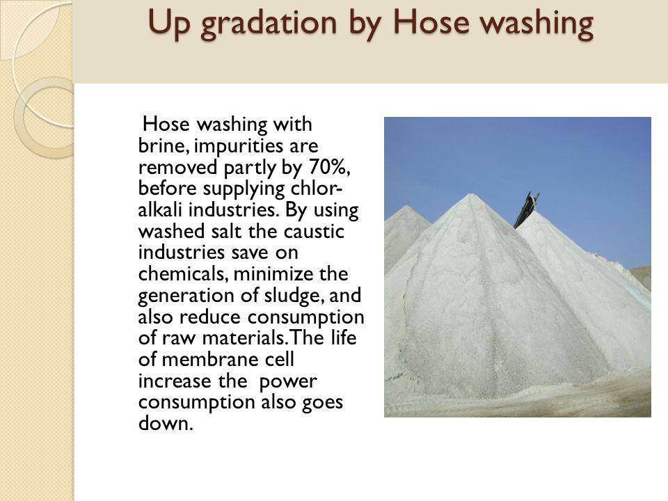 Up gradation by Hose washing