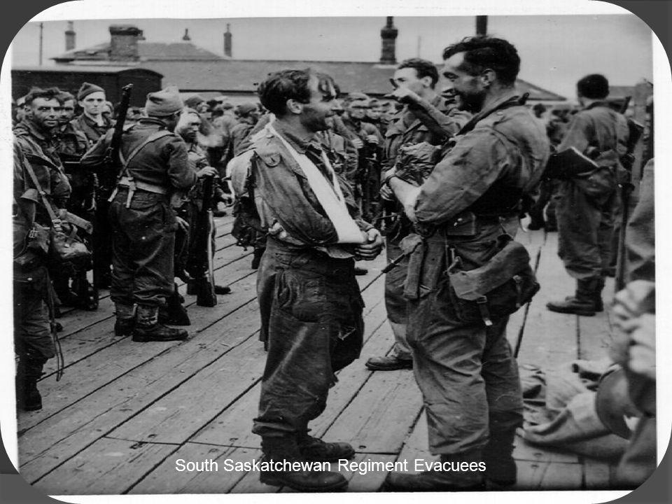 South Saskatchewan Regiment Evacuees