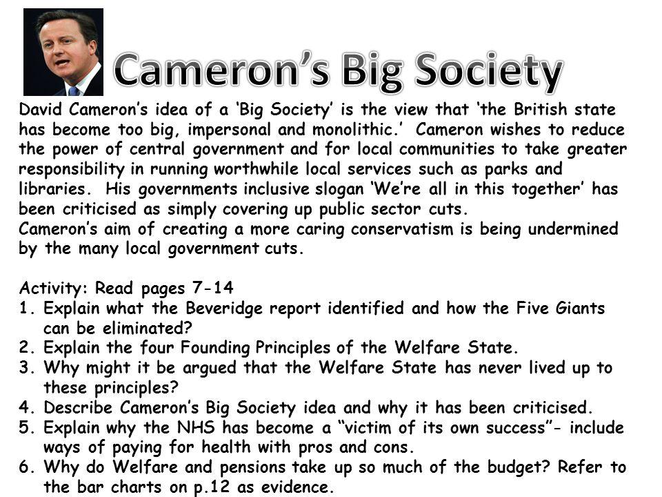 Cameron's Big Society