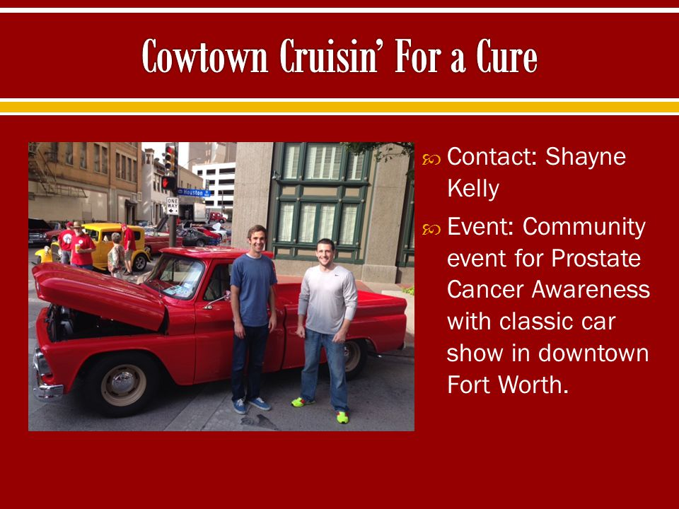 Cowtown Cruisin' For a Cure