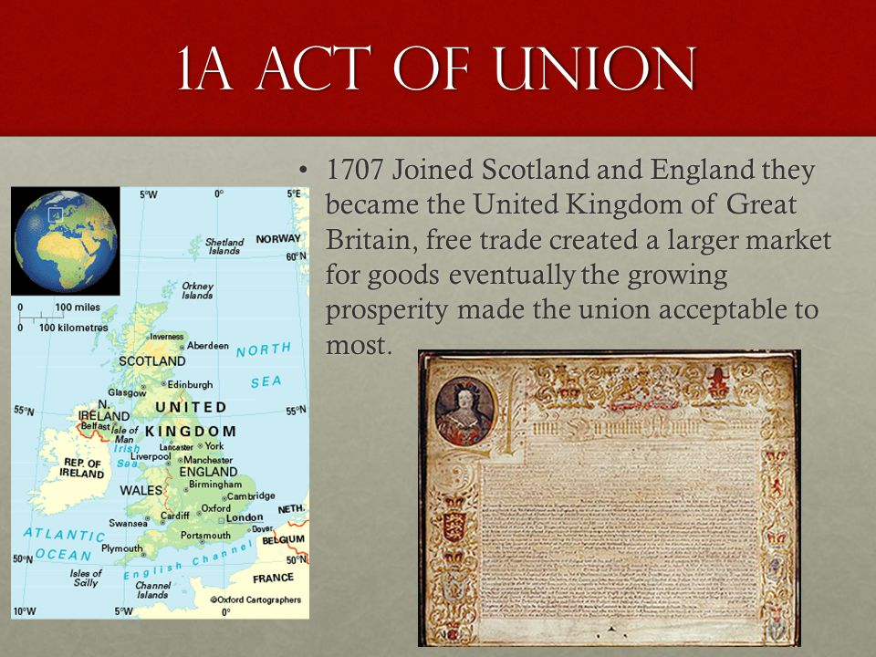 1a Act of Union