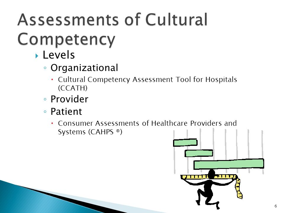 Assessments of Cultural Competency