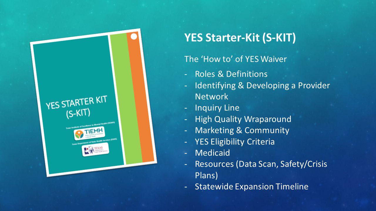 YES Starter-Kit (S-KIT)