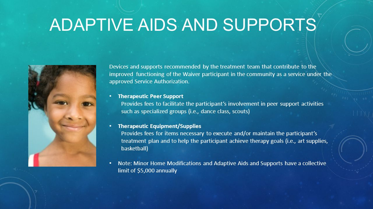 Adaptive Aids and Supports