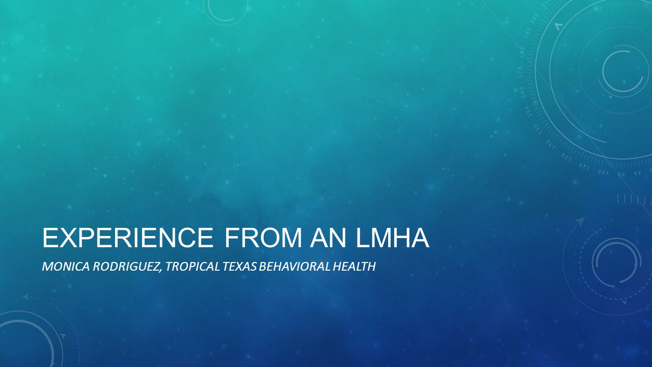 Experience from an LMHA