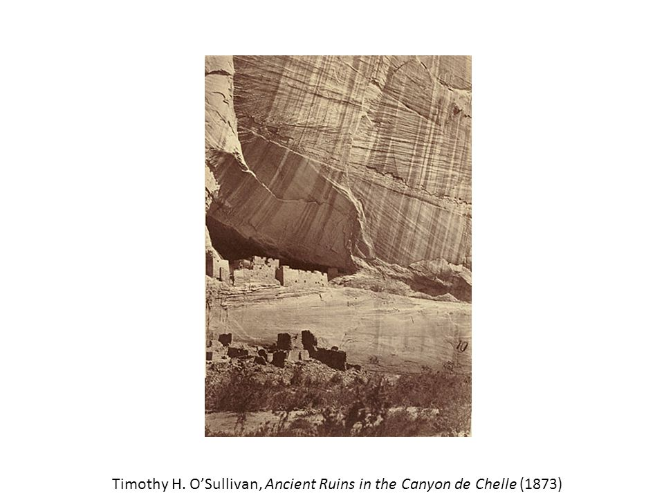 Timothy H. O'Sullivan, Ancient Ruins in the Canyon de Chelle (1873)