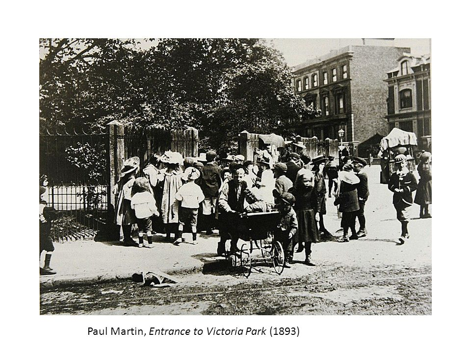 Paul Martin, Entrance to Victoria Park (1893)