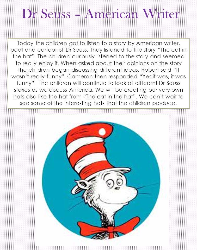Dr Seuss – American Writer