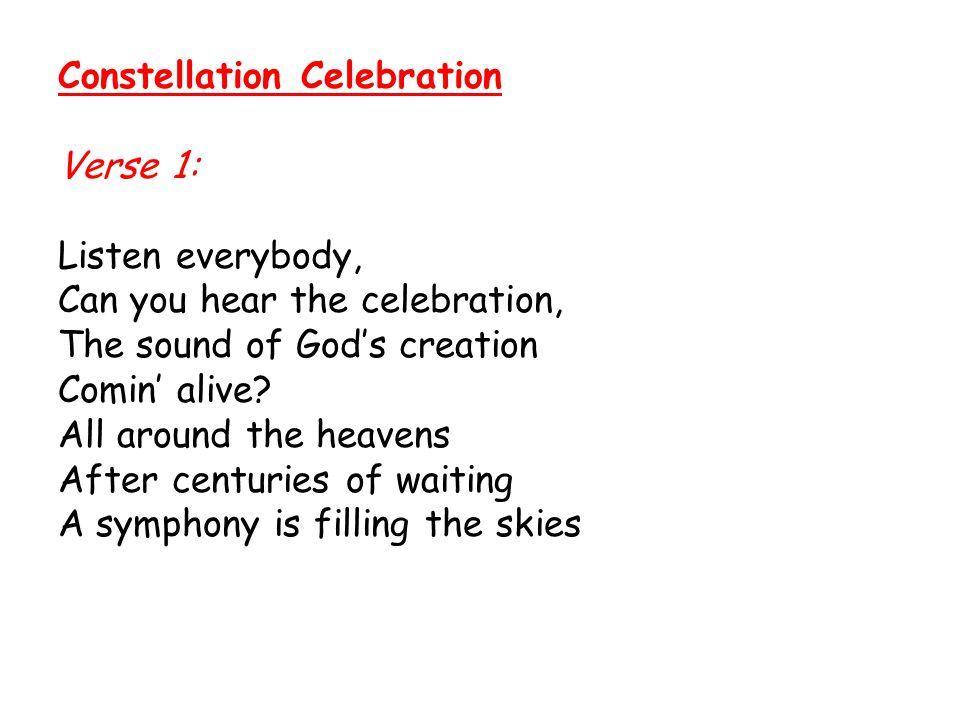 Constellation Celebration