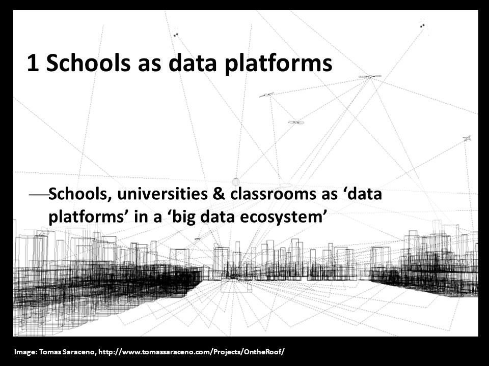 1 Schools as data platforms