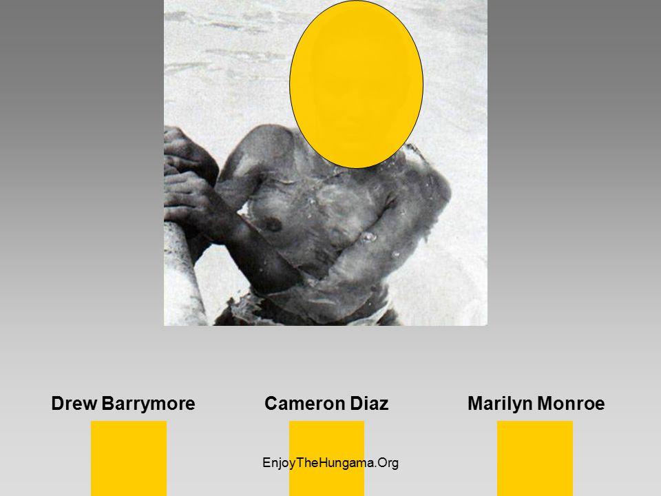 Drew Barrymore Cameron Diaz Marilyn Monroe EnjoyTheHungama.Org